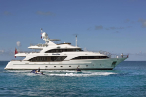 motor yachts caribbean opi pure bliss