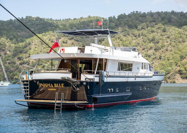 motor yachts med opi enigma blue